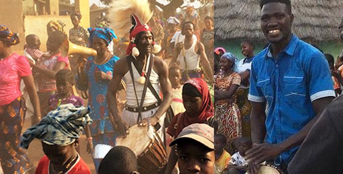 Sayon Camara, Namory Keita Djembe Workshops