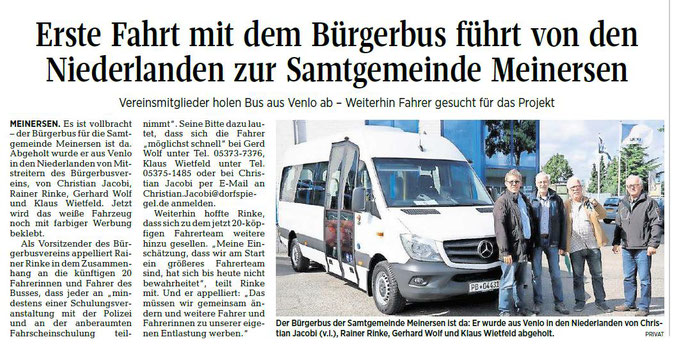 Aller-Zeitung vom 15.9.2017