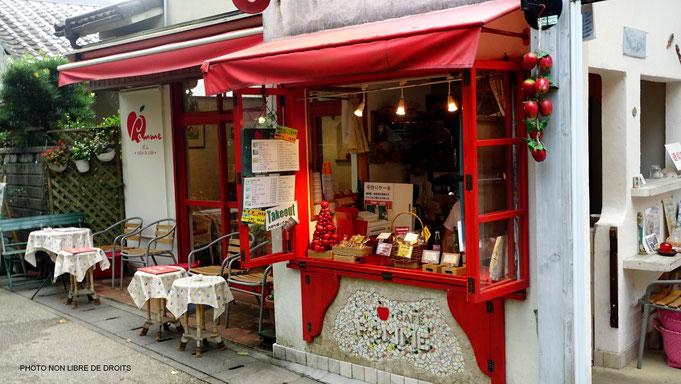 Café Pomme, chemin de la Philosophie, Kyoto