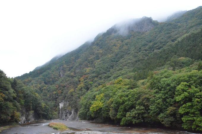 吹割渓谷の紅葉