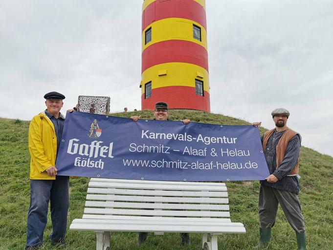 """Wir bedanken uns bei der Privatbrauerei Gaffel Becker & Co . OHG, 50668 Köln und bei unseren Freunden, den """" Ostfriesen auf der Bank """" für ihre Unterstützung."""