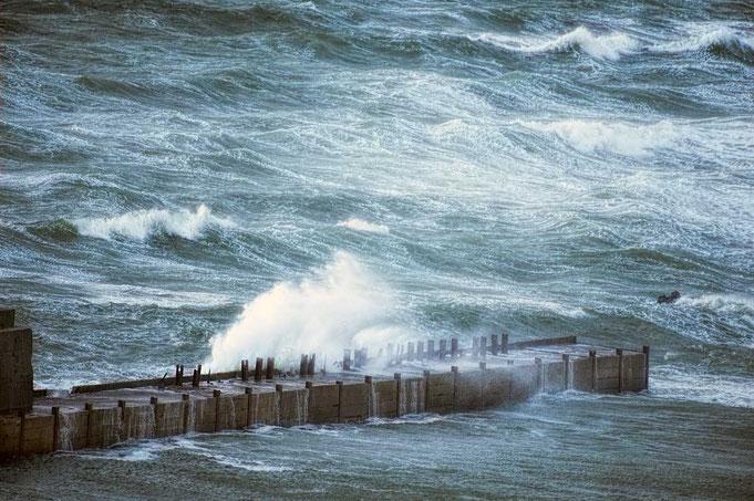 Mit gebalter Kraft tobt die Nordsee.