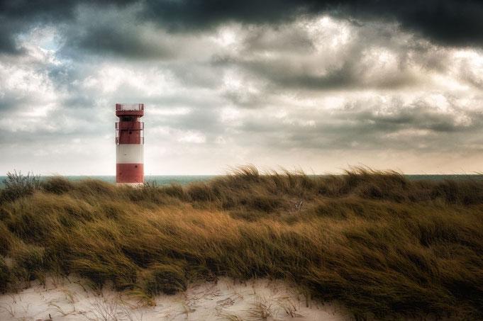 Leuchtturm Helgoland auf der Düne
