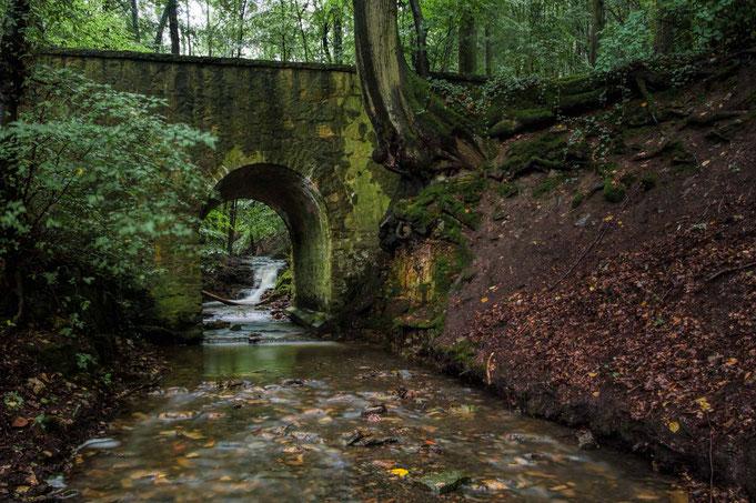 Brücke über den Rickbach.