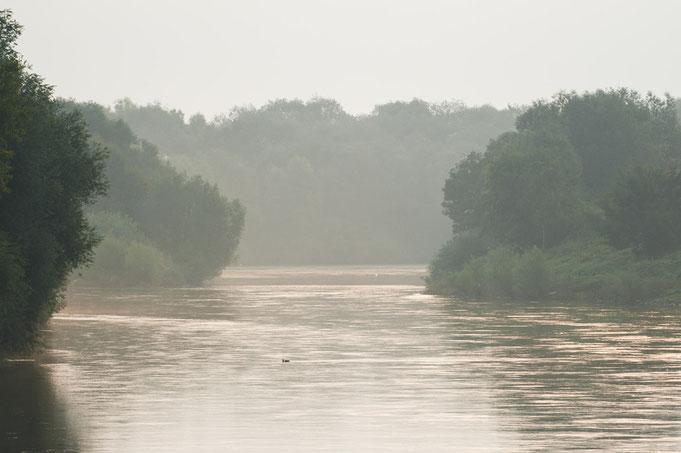 An der Weser.