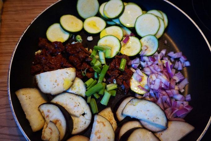 Tortellini Pfanne mit Gemüse