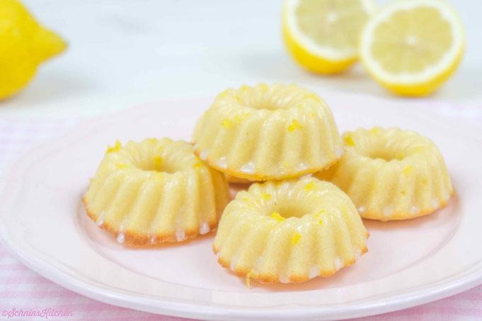 uh la la l Kleine Zitronen-Gugelhupfe a la Schnin