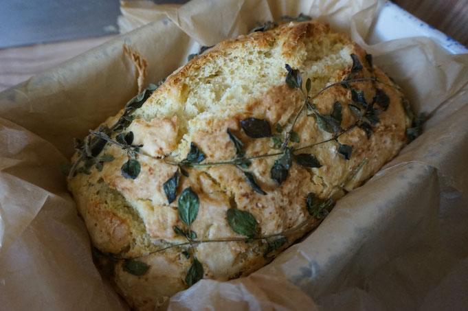 Rezept ultimatives Milch Brot zum Grillen  mit Oregano