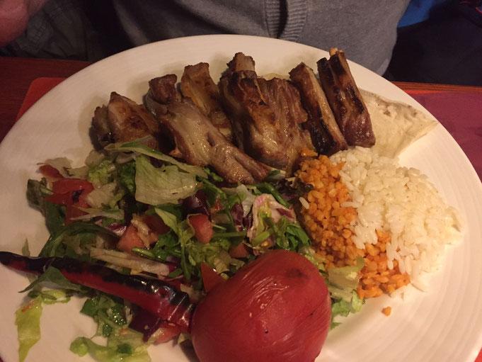 Asmali Konak Restaurant Koeln Keupstrasse | Lamm-Teller |  Erfahrungsbericht