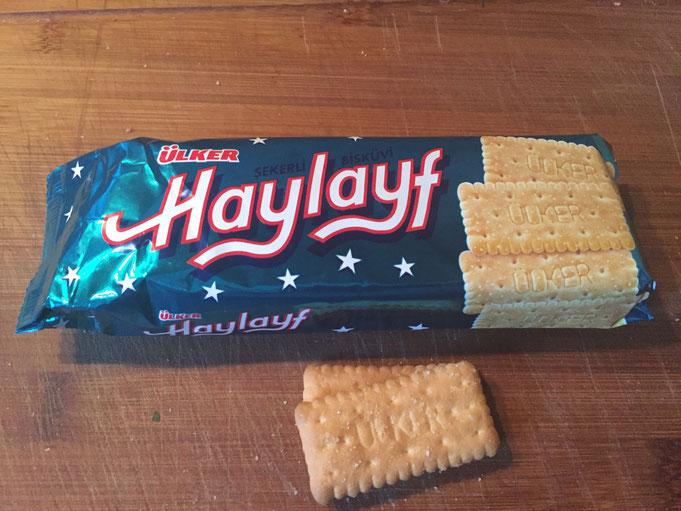 Uelker Haylayf | leckere tuerkische Kekse | Kurabiye