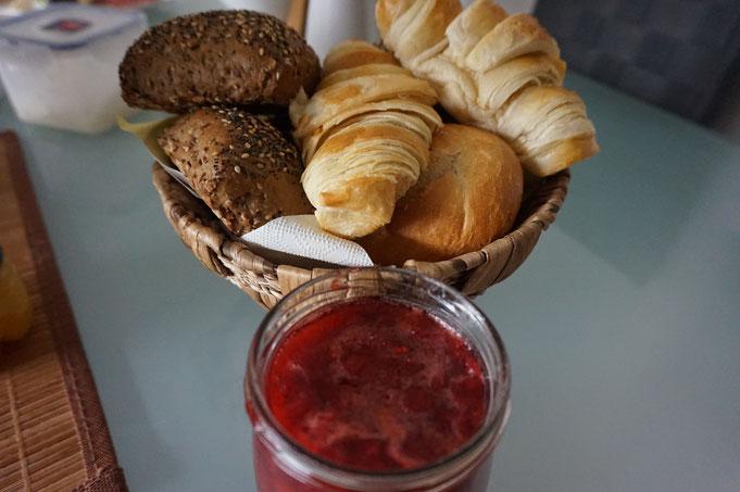 Rezept leckere selbst gemachte Vanille - Erdbeer Marmelade