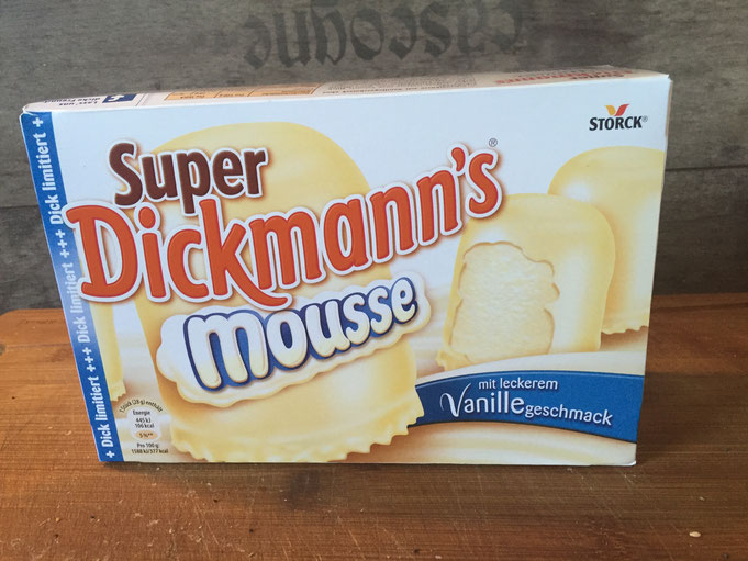 Super Dickmanns Mousse mit Vanille Geschmack | dick limitiert