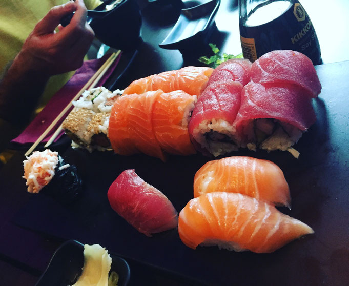 Japanisch Essen|Okinii Sushi in Koeln|Erfahrungsbericht