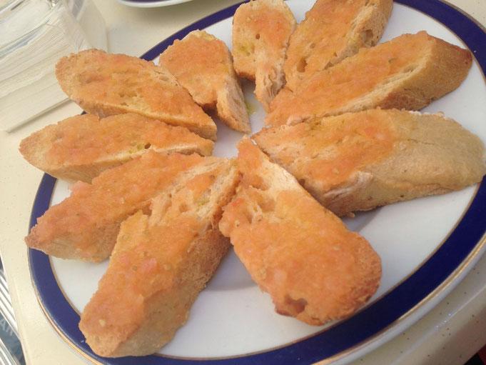 Rezept Tomaten Aufstrich aufs Brot wie in Madrid
