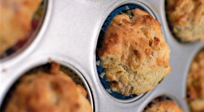 herzhafte Kaese-Speck Muffins a la Kerstin