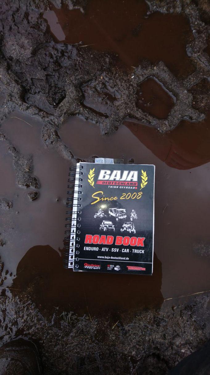 Leider fiel die Letzte WP am Sonntag buchstäblich ins Wasser , die MIBRAG ließ uns aufgrund der heftigen Regenfälle nicht mehr starten.
