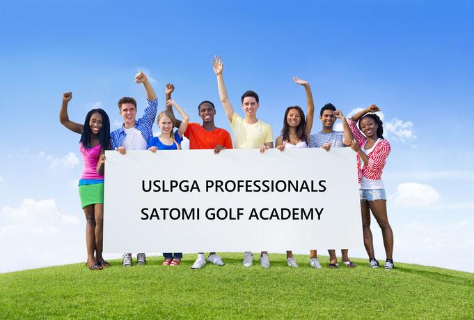 USLPGA女子プロゴルフレッスンならサトミゴルフアカデミー