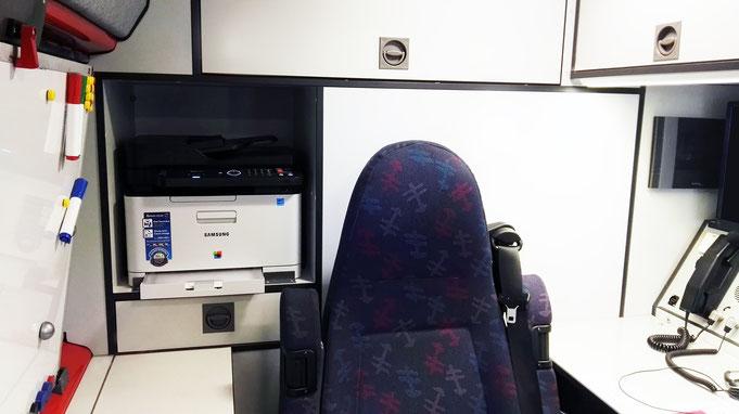 Multifunktionsgerät mit Faxfunktion im ELW