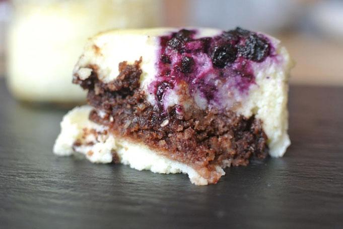 Käsekuchen Muffin oder im Glas  im Thermomix