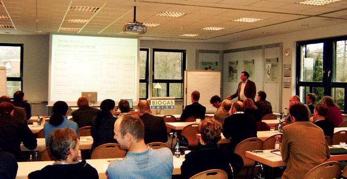 Vortrag auf der Mitgliederversammlung der Biogasunion