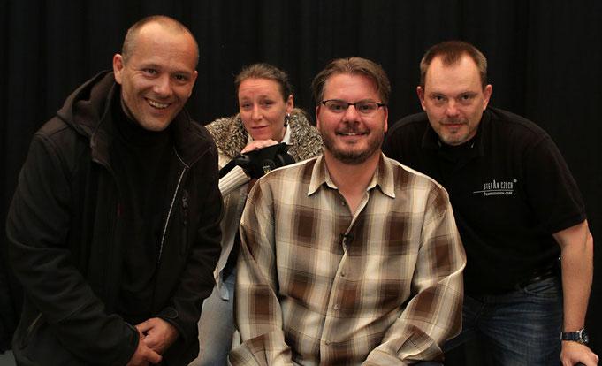 Vincent Laforet mit Stefan Czech und seinem Team
