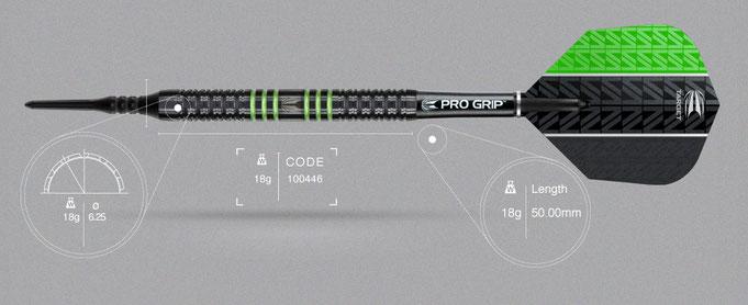 Target Vapor-8 black green