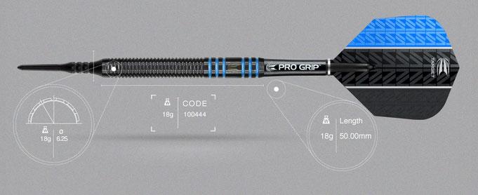 Target Vapor-8 black blue