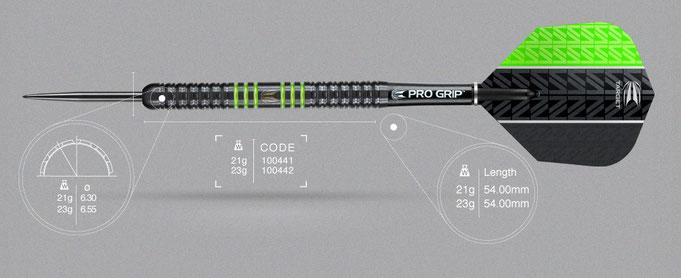 Target Vapor 8 Black Green