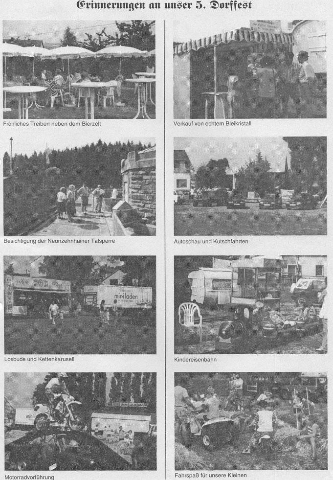 Bild: Teichler Wünschendorf Erzgebirge Dorffest 1994