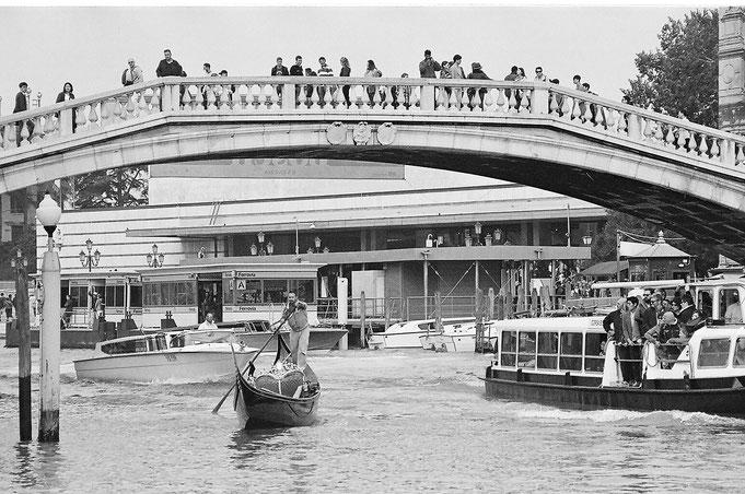Venezia, Ferrovia, Canal Grande