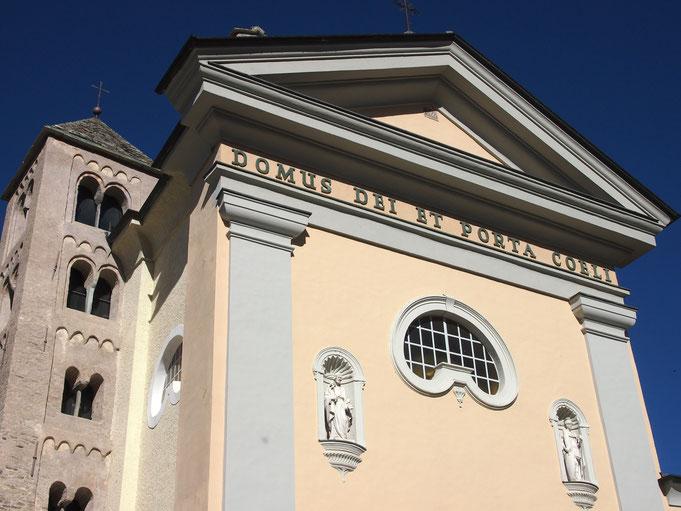 Bardonecchia, Italian Alps, Chiesa di S.Ippolito (series)