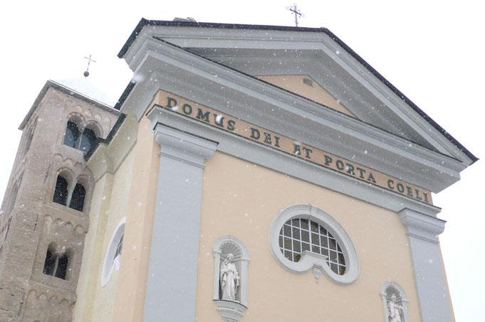 Bardonecchia, Italian Alps, Chiesa di S.Ippolito, Winter 2016 (series)