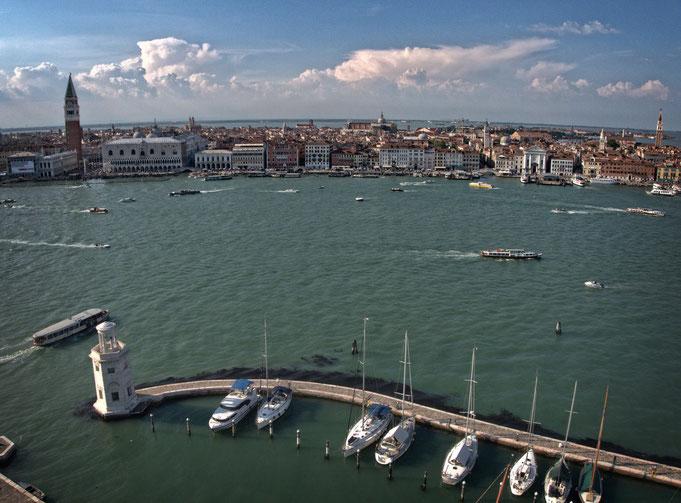 Venezia, dall'isola di San Giorgio