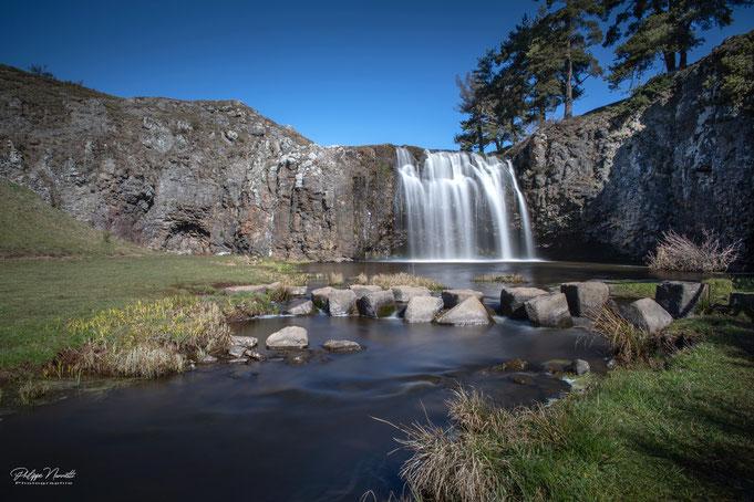 cascade de veyrine, cantal