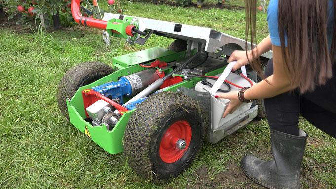 Frucotec Erntewagen Batterien elektrisch
