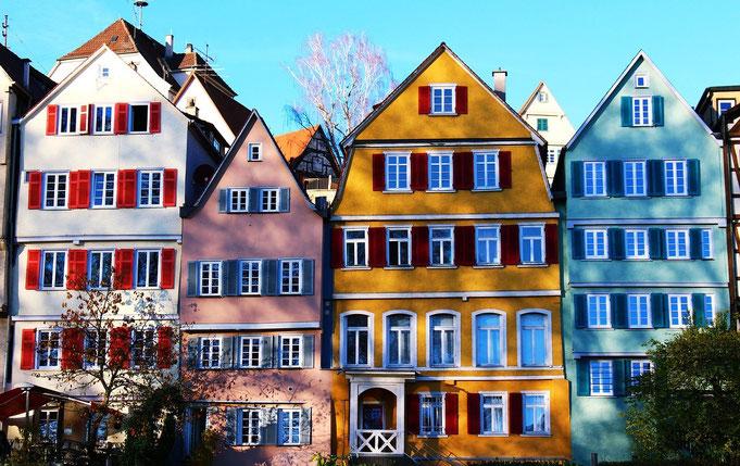 Altstadt Tübingen - perfekte Kulisse für schöne Hochzeitsbilder