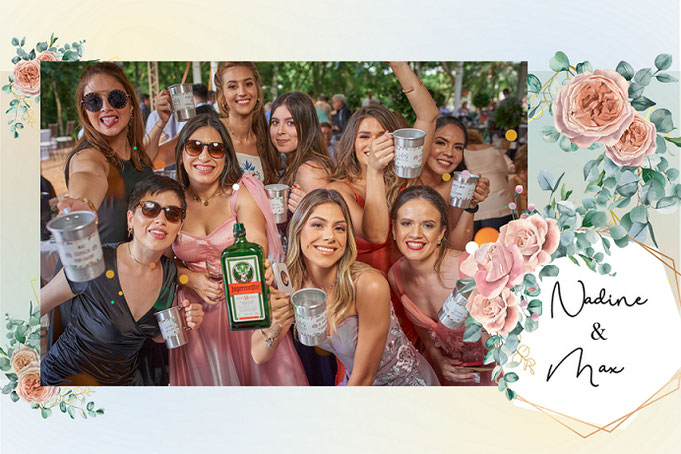 Beispiel Foto - Hochzeit mit unserer Fotobox