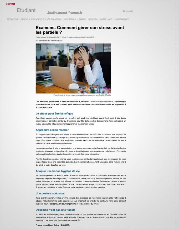 Rennes Stress examens bac