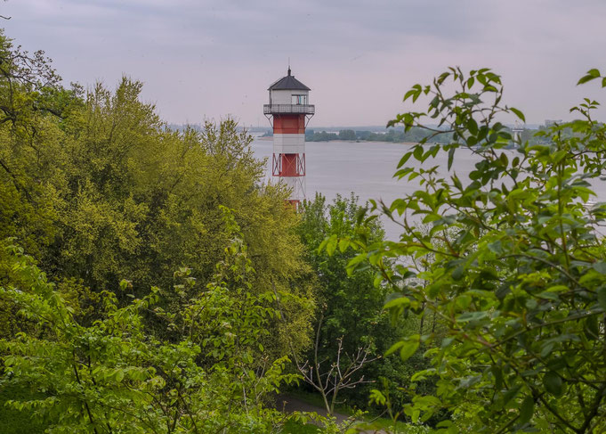 more then hundred years old the lighthouse Wittenberge Oberfeuer. © Christian Kaiser - Elbe