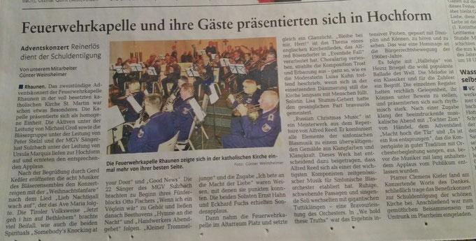 Artikel aus der Nahe-Zeitung Dezember 2017