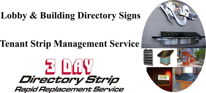 Lobby and Building Directory Signs