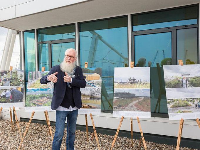 John Langley, Preisrichter und Gartenbotschafter der Loki Schmidt Stiftung (Bild: BUE)