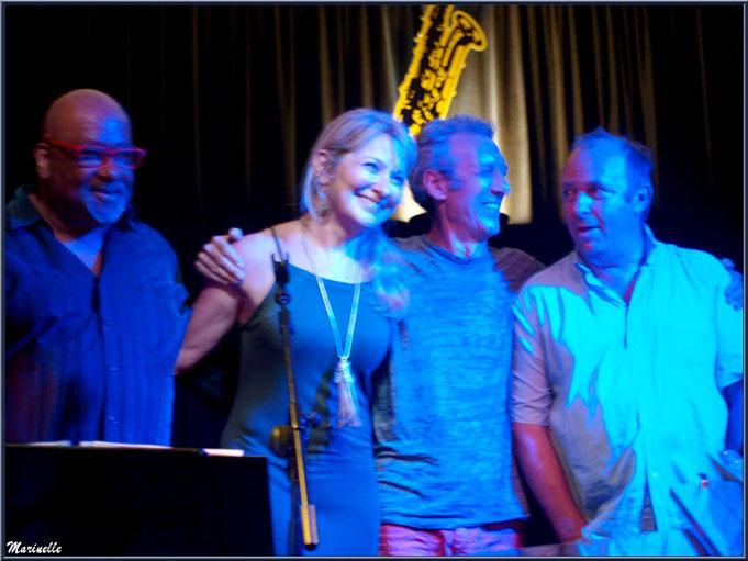 Et ainsi s'achève ce concert de Caroline Grossot au Baryton à Lanton le 12 septembre 2015