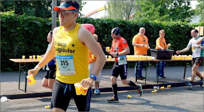 Große Leistung! Martin in Duisburg als Pacemaker (3:15).