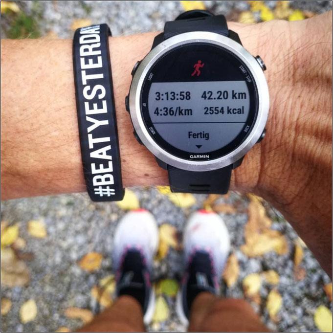 Marathon mit dem 'FuelCell Propel'?