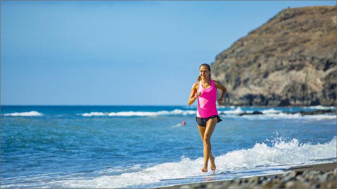 Hüpft nach dem Training gern mal ins Meer. Bildquelle: Moni Rausch/Inger Diederich