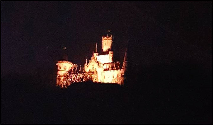 Das imposante Schloss Marienburg. Bildquelle: Michael Reis