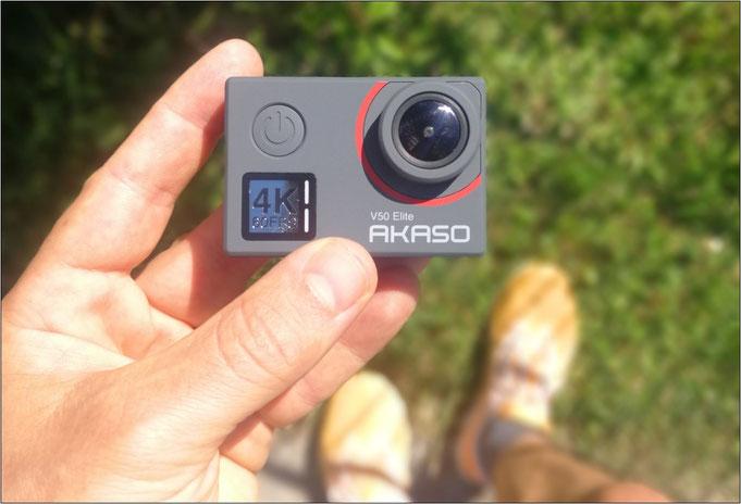 Diese Action-Cam ist klein und handlich!