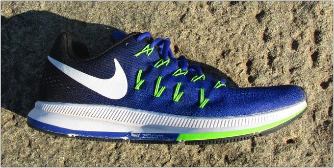 Nach 200 Kilometern! In Sachen Verschleiß und Abrieb ist beim 'Nike Air Zoom Pegasus 33' alles im grünen Bereich.