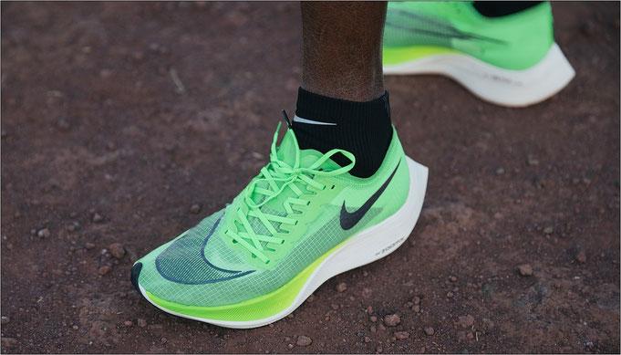 Mo Farah mit dem Nike ZoomX Vaporfly NEXT% - Bildquelle: Nike